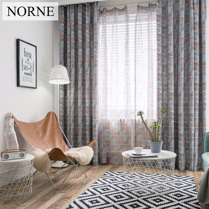 kitchen door blinds kitchen bathroom norne modern geometric pattern window treatment blackout curtains for bedroom living room kitchen door blinds curtain drapes hot sale
