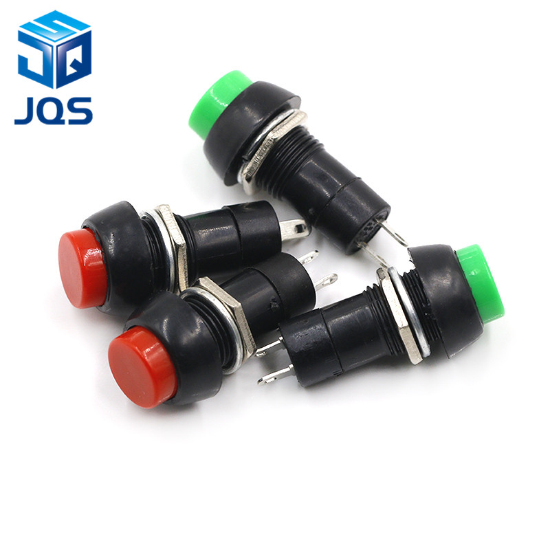 5pcs PBS-11B 2PIN 12mm No Lock Self-Lock ON OFF Push Button Momentary Switch 3A 150V