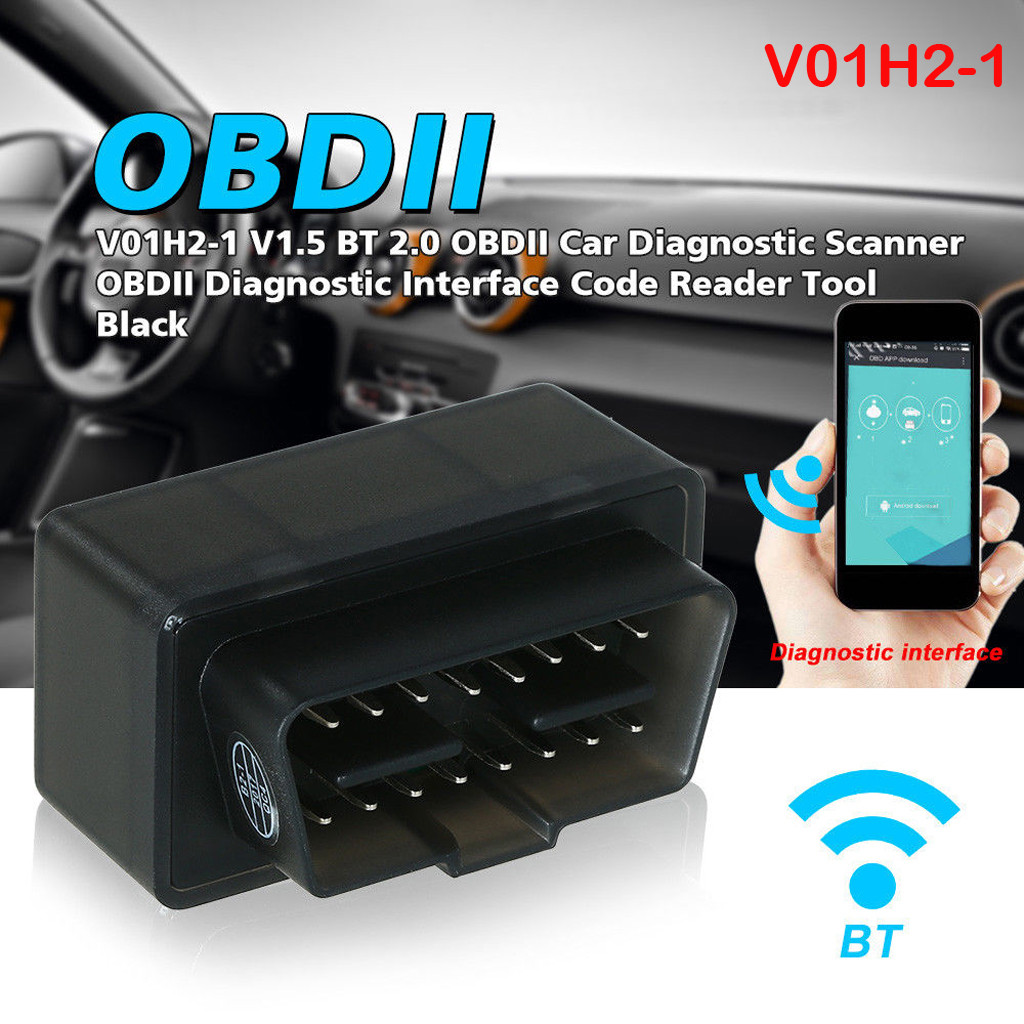 ODB2 ODBII Car Diagnostic Tool BT2.1 Trouble Code Reader Scanner