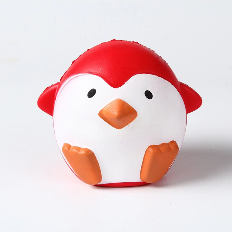 2018 New Arrival Jumbo Squishy Penguin Kawaii Cute Animal Slow Rising Sweet Scented Vent Charms Bread Cake Kid Toy Doll Gift Fun