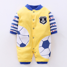 YiErYing Baby Boys Girls jumpsuits Spring Autumn Soft 100% Cotton Newborn Clothes  Lovely Romper Toddler Clothing