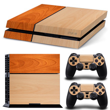 Wood Style PS4 Skin Sticker