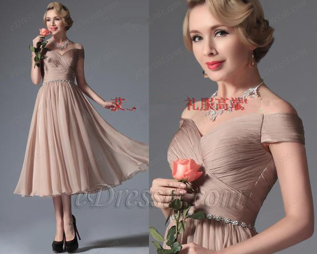 free shipping custom made chiffon pleat cap sleeve a line short prom dresses 2015 New fashion hot sexy party evening gowns in Prom Dresses from Weddings Events