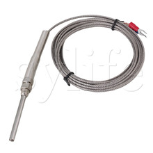 Generic New 3 Meter High Temperature -100~1250 C Thermocouple K Type 50mm Probe Sensors