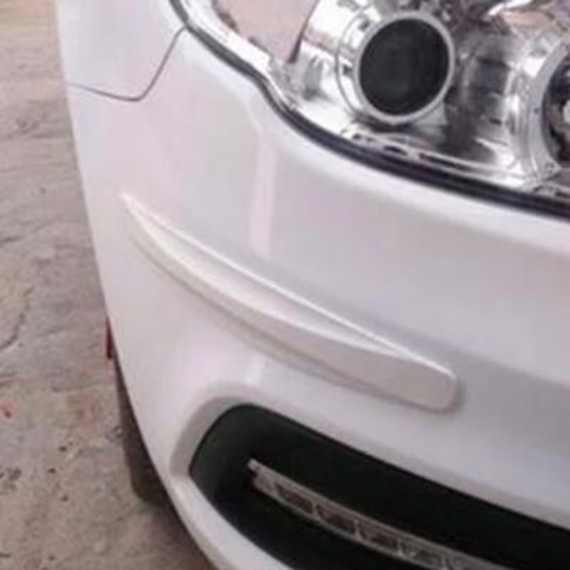 2 Pcs In Fibra Di Carbonio Anteriore E Posteriore Paraurti Protector Angolo Per Nissan Teana X-trail Qashqai Livina Sylphy Tiida Sunny Marzo Murano