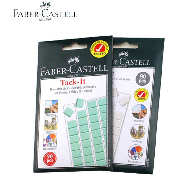 Faber Castell Clay Nail Free Adhesive, Clay Photo Wall Adhesive,non Marking Poster Glue, Two Sides Paste, Double-sided Adhesive.