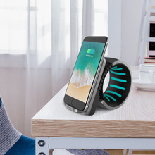 Fast Charger Per iphone X senza fili del telefono mobile di ricarica 10 w luce notturna multi funzione di caricatore del telefono mobile