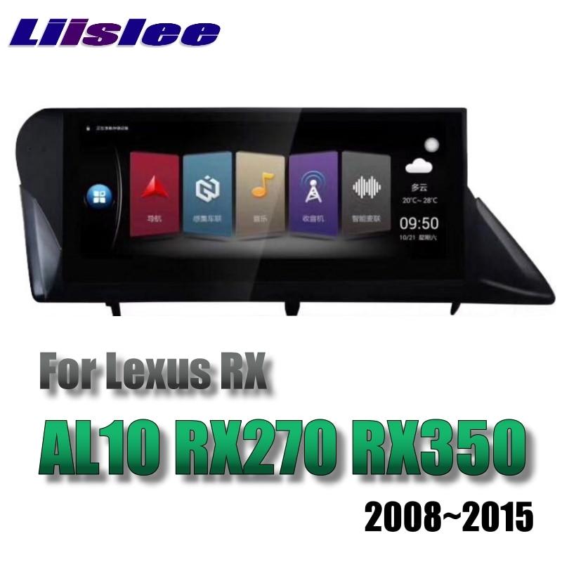For Lexus Rx Al10 Rx270 Rx350 450h 20082015 Liislee Car Multimedia Rhaliexpress: 2008 Lexus Rx 350 Lifier Location At Gmaili.net