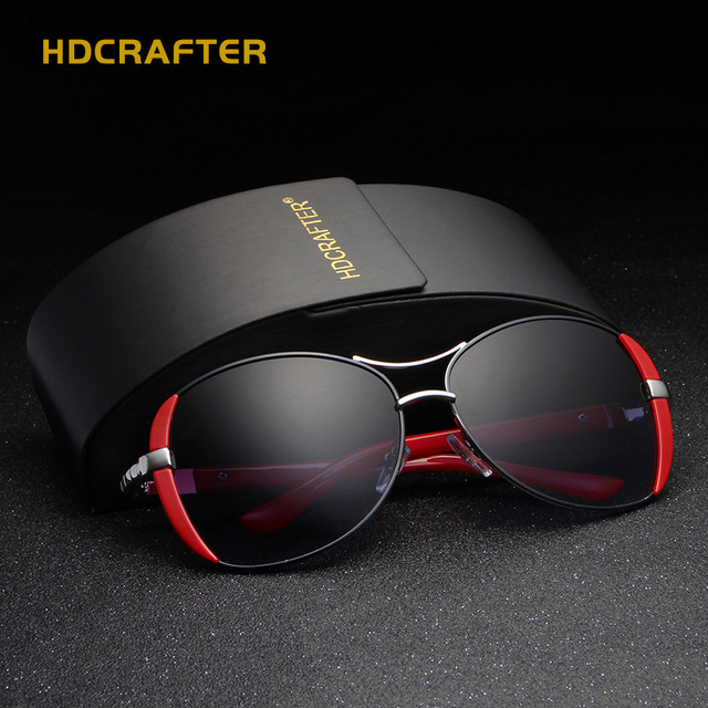 789b0e9a49 HDCRAFTER 2017 Luxury Brand Women Sunglasses New elegant glasses anteojos  de sol mujer Sunglasses for Female oculos de sol