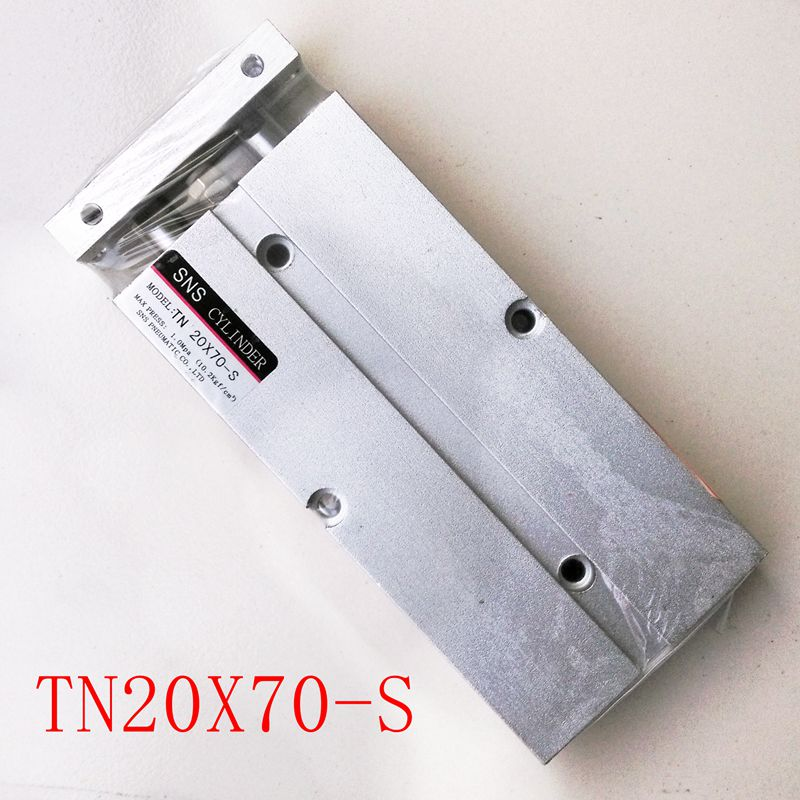 TN20X70-S Double Rod Air Cylinder With Magnetic Bore 20mm Stroke 70mm TDA20*70-S cxsm 32 70 smc festo type cxs series slide bearing double rod air cylinder with magnet cxsm32 70 cxsm32 70 cxsm 32 70 32x70