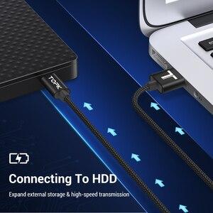 Image 4 - TOPK Mini USB kablosu Mini USB USB hızlı veri eşleştirme şarj kablosu için cep telefonu dijital kamera MP3 MP4 oynatıcı tabletler GPS