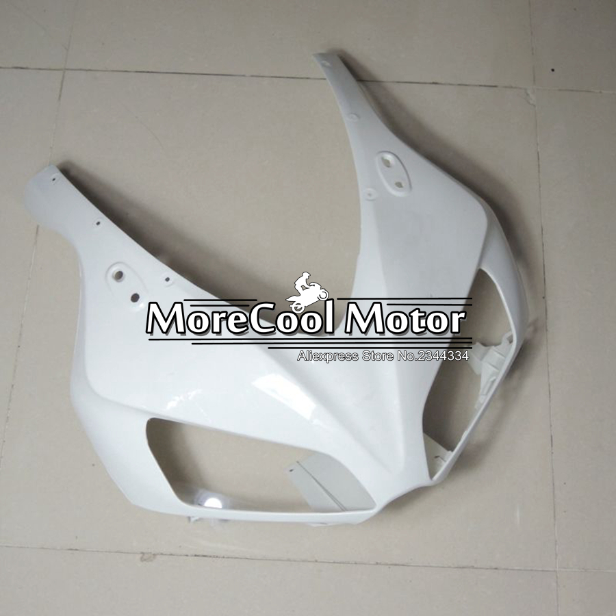 ABS Plastic Unpainted Fairing Front For Honda CBR1000RR 2006 2007 CBR1000 RR 06 07 Injection Motorcycle Upper Fairing Head Nose