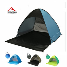 Pop Up Open 2-3 Person Beach Sunshelter Tent – UV Protection