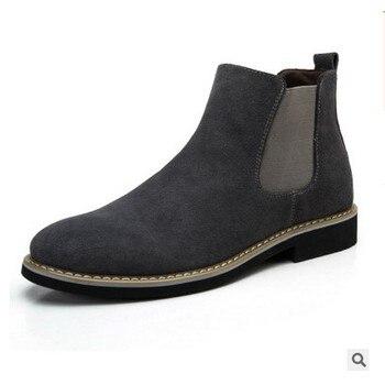 Zapatos de hombre de alta calidad, botas de verano para exteriores, Botines Chelsea, zapatos de hombre, calzado de otoño-invierno, calzado para hombre