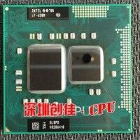 Бесплатная доставка оригинальный Intel Core I7 620 м процессора 4 м/2,66 ГГц/3333 мГц/Dual-Core ноутбук процессор I7-620M Совместимость HM57 HM55