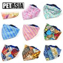 hot deal buy adjustable dog collar bandana neckerchief pet dog collar puppy cat scarf collar paisley pattern tie pet accessories petasia