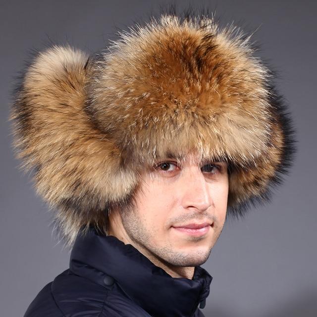 Rusia cap2016 Masculina sombrero de piel de invierno de los hombres para  mantener el calor en 43d05cf134c