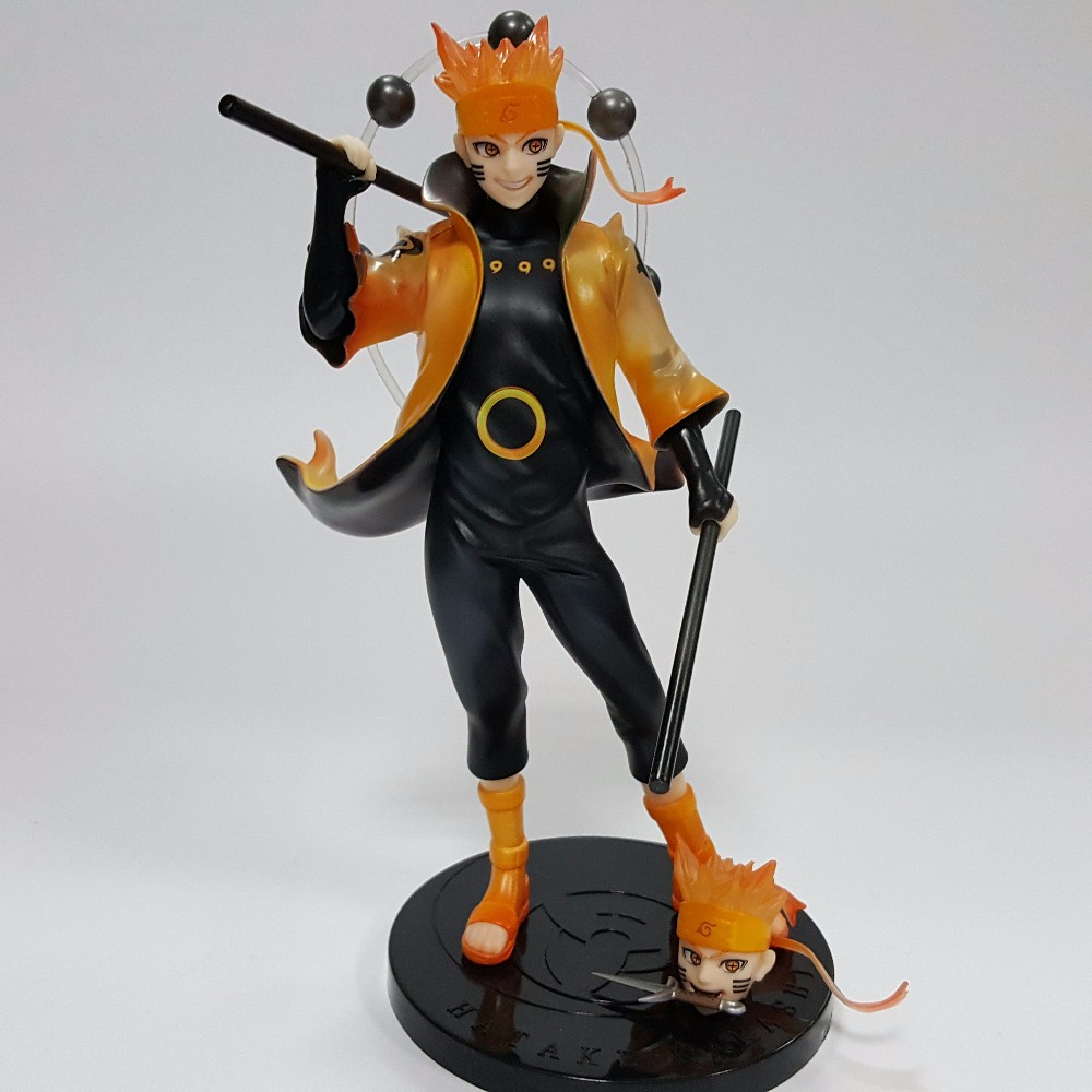 NARUTO Action Figure Rikudousennin Modo Uzumaki Naruto Figure Toy 18CM Anime Naruto Shippuden Movie Model Toy Naruto Kyuubi N10 motorcycle front mudguard fender rear extender extension for bmw r1200gs