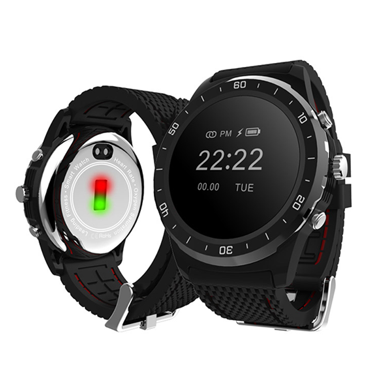 Bluetooth Smart Watch, Layered Display, NFC Payments, Google Assistant, Wear OS by Google (Formerly Android Wear), Compatible