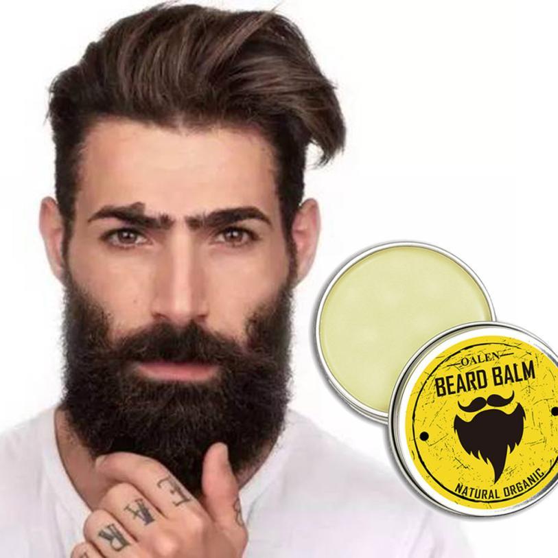 Men Beard Balm Leave Moisturizing Care Cream Beard Care Lubricating Cream 30g AP18