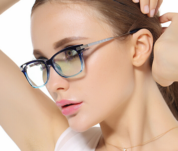 aliexpresscom buy blue clear eyeglasses frames eyewear female women clear optical spectacles glasses new from reliable glasses stand suppliers on fresh