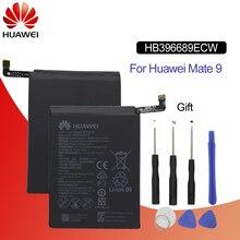 Batterie de téléphone dorigine Hua Wei HB396689ECW pour Huawei Mate 9 Mate9 Real 2900/3000 mAh Batteries de remplacement de haute qualité + outils