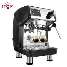 ITOP Italian Coffee Machine Espresso Coffee Maker Machine Semi-automatic koffiezetapparaat machine 220V semi automatic italian coffee machine pump type coffee machine manual fancy coffee 220v 50hz 1100w 1pc
