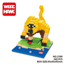 WISE HAWK Golden Monkey blocks ego legoe star wars duplo lepin toys playmobil castle starwars orbeez figure doll car brick