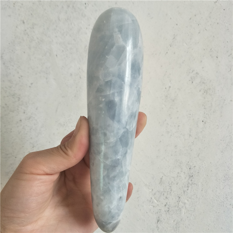 large  crystal stone wand large long  celestine  crystal massage wand yoni wand for health healing crystals  yoni pleasure large  crystal stone wand large long  celestine  crystal massage wand yoni wand for health healing crystals  yoni pleasure