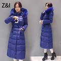 ukraine fur coat women hooded pocket down cotton liner parkas luxury winter 4XL plus size long puffer coat