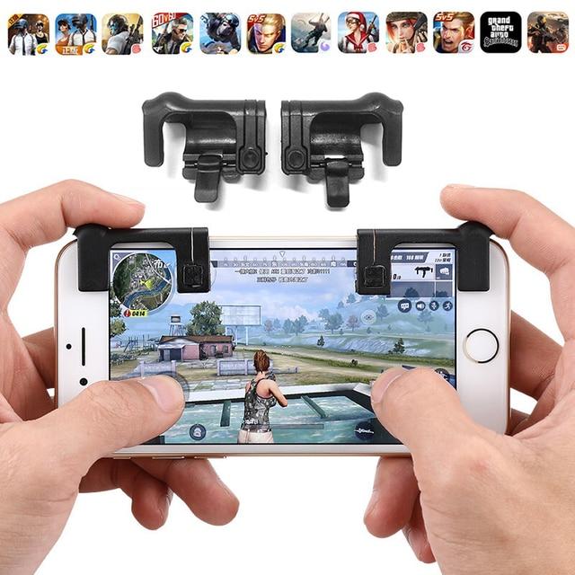 2018 ножи из правила выживания мобильной игры огонь Кнопка Aim ключ смартфон мобильных игр триггер L1R1 шутер контроллер pubg
