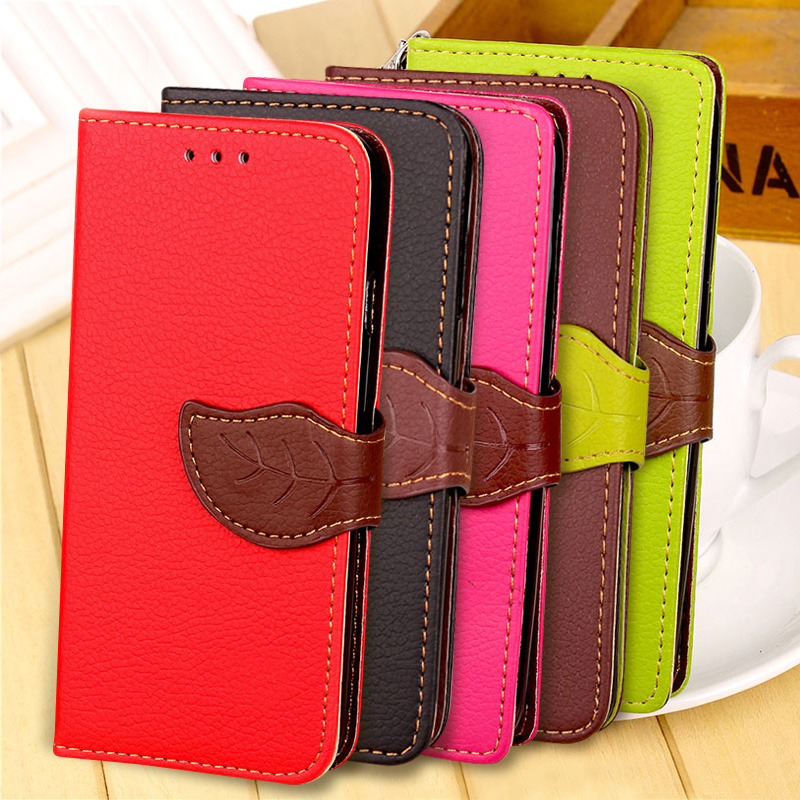 Luxury Stand Flip Leather Mobile Case For LG Q6 a alpha Q6a Q