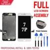ชุดจอ LCD สำหรับ iPhone 7G 7 Plus LCD Complete Assembly จอแสดงผล Touch Screen Digitizer เปลี่ยนกล้องด้านหน้าไม่มีปุ่ม Home