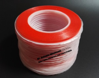 10 Rolls (6mm*25M), Strong Bond Double Coated Acrylic Glue Clear Tape, Battery Fix Repair, 0.2mm Thick