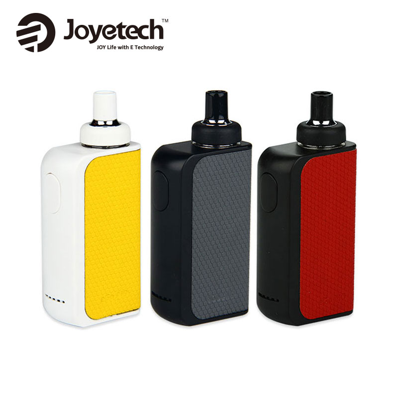 Original Joyetech EGO AIO Box Kit 2100mAh Alla IN One Vaping Kit och 2ml Tank Atomizer Kapacitet BF SS316 Coil 0.6ohm joyetech AIO