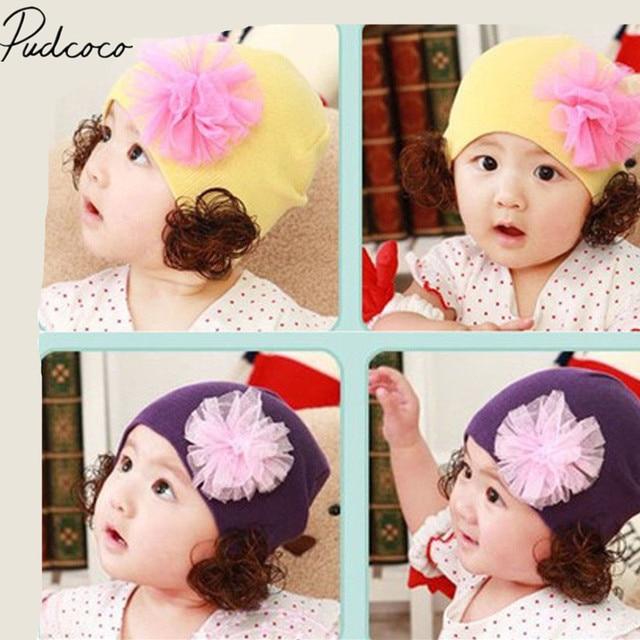 2018 Marque Nouvelle Mode Coton Bonnet Pour Bébé Nouveau-Né Garçon Fille  Enfants Enfants Doux 35b0ecdf19a