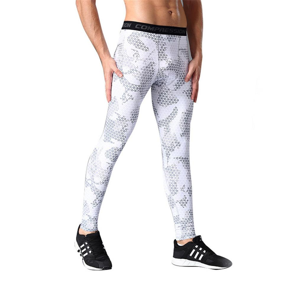 4d68917a3b Mens Sports Pants Compression Tights Men's Quick drying Pants Outdoor  Running Training Basketball Pants Fitness Pants Leggings-in Running Tights  from Sports ...