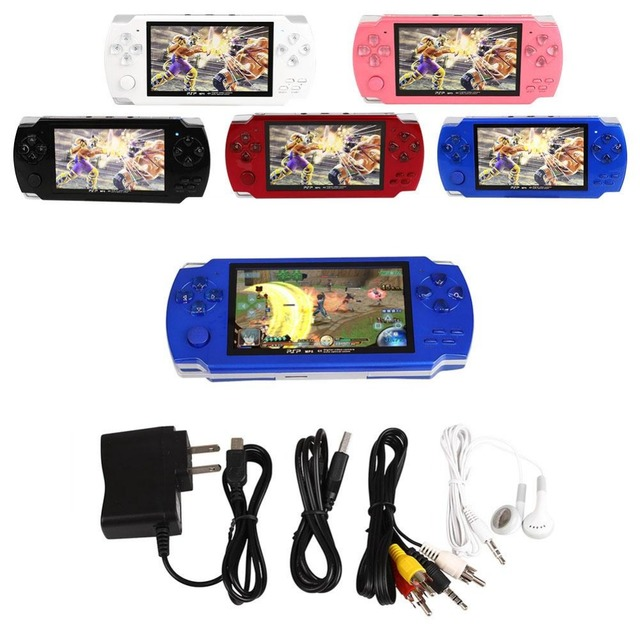 Original handheld Game Console 4.3 inch screen mp4 player MP5 game player real 8GB support for PSP For psp game Christmas
