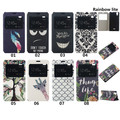 New for Wiko Rainbow Lite Phone Cases, Totem Horizontal Flip View Window PUStand Cover Cases For Wiko Rainbow Lite