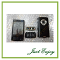 Brand New Full Housing Cover Case For Nokia N95 8gb Housing +Keypad Black Sliver Color +Tools Free Tracking