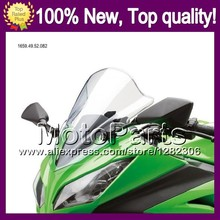 Clear Windshield For KAWASAKI NINJA 650R ER-6f 12-13 ER6F ER 6F ER6F 12 13 2012 2013 2012-2013 *-4 Bright Windscreen Screen