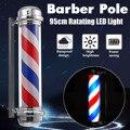 4 типа осветительная лампа для парикмахерской в красно-белую и синюю полоску вращающаяся Светодиодная лампа для парикмахерского салона нар...