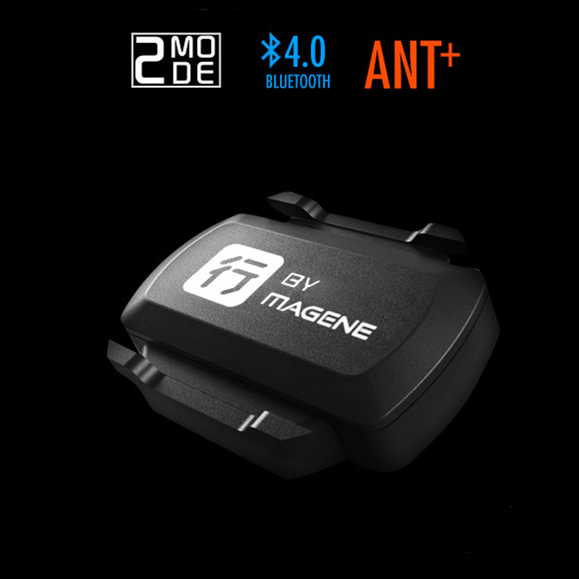 2017 Bicycle Computer Wireless Dual-mode Cycling Cadence Sensor ANT+ Bluetooth 4.0 Waterproof Bike Speedometer Riding Companion magene ant usb transmitter receiver compatible garmin sale bicycle computer cycle usb ant stick bluetooth speed cadence sensor