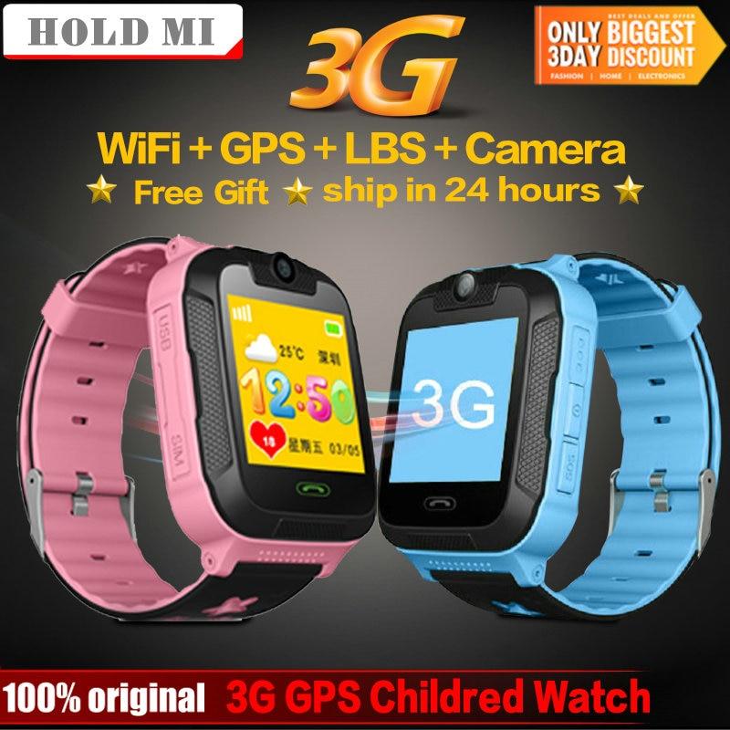 Q528 Pro Smart Kids Watch 3G Network GPS LBS Wifi Tracker Location SOS Dial Call Camera