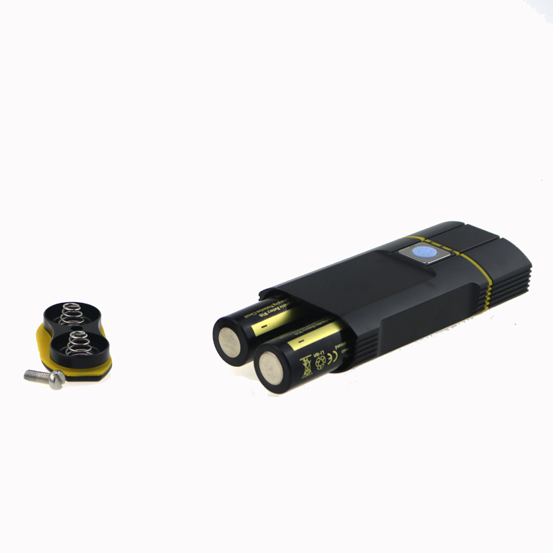 2000 Lumen USB 18650 Battery Rechargeable Bike Light 2x Cree XML T6 Led Bicycle Lamp Flashlight With Adjustable Bracket