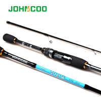 1.9m 2.1m Spinning Fishing rod with 2 tips UL/L Really Fast Action Sensitive Solid tip for Trout Perch light weight 1-6g/2-10g