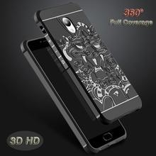 HD 3D Стерео Милосердия Картина Задняя Крышка Case Для Meizu M5 Примечание 5 Note5/M5 M5S Мини Полное Покрытие Крышка Мобильного Телефона Силикона