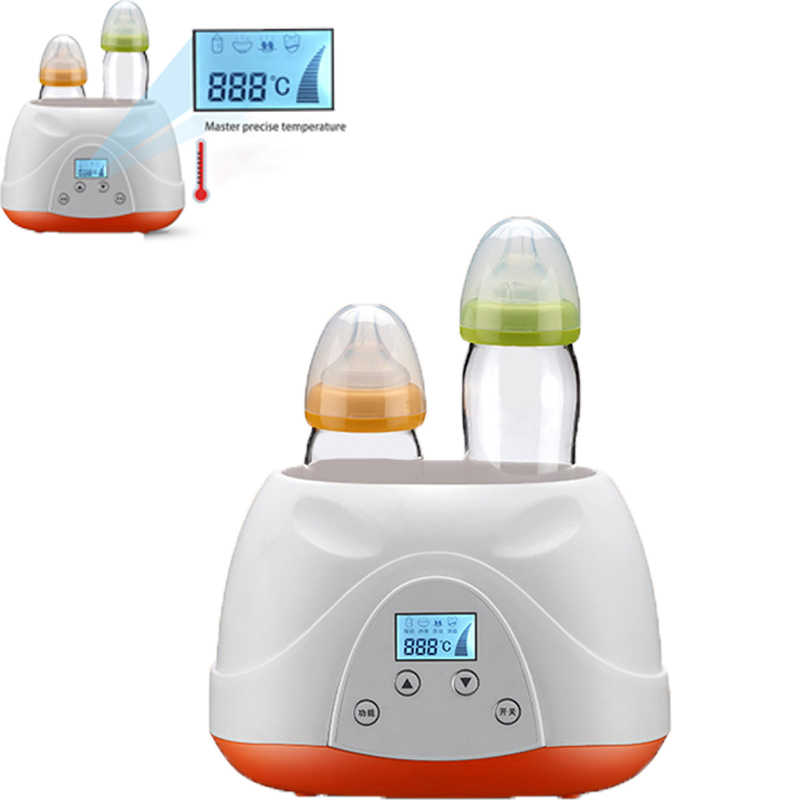 Kettle Baby Feeding Bottle Electric Warmer Heater Baby food Warm Double Bottle Sterilizer Electric Warmer Milk Food BPA