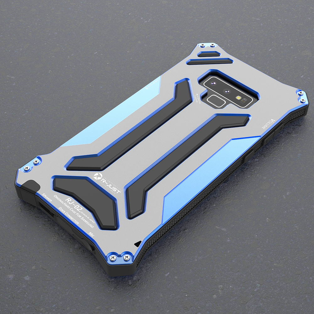 Armor Phone Case For Samsung Galaxy Note 9 8 S8 S9 Plus Note9 S6 Edge Shockproof Aluminum Metal Protection Cover