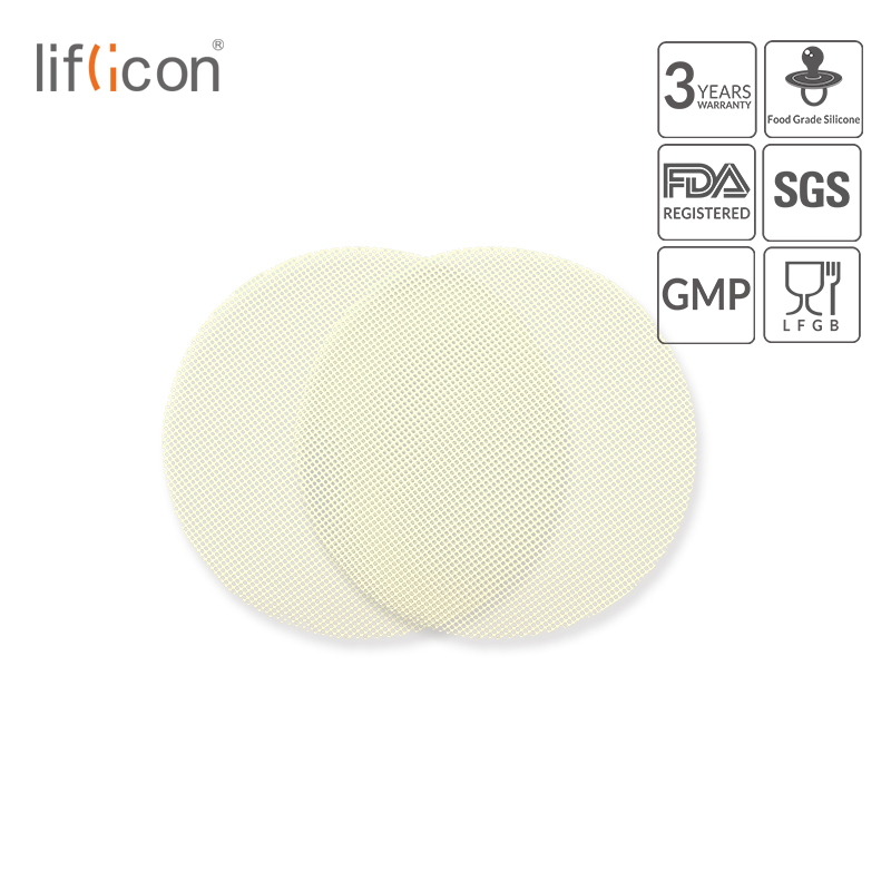 Liflicon Reusable Steamer Mats Food Grade Silicone Non-stick Grid Non-stick Cooking Steam Mat Kitchen Tools Cooking Accessories